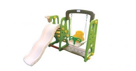 детска пързалка с люлка