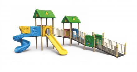 Съоръжения подходящи за деца със специфични двигателни функции