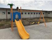 Детски люлки с пързалка 170525E