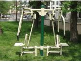 двоен фитнес уред за теглене14244G