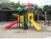 Детско съоръжение - пързалки и люлки 18200A