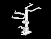 Комбиниран троен фитнес уред F-150