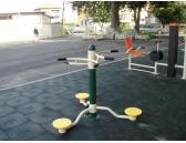 външна фитнес площадка